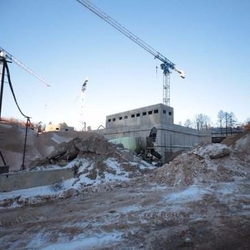 жилой комплекс Ленинград, строительство